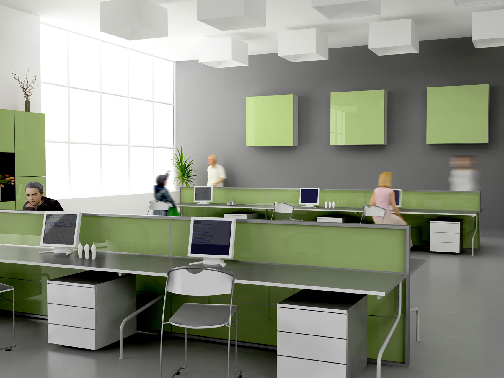 Ofis ses yal t m - Small business space paint ...